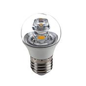 5W E26/E27 Luces LED en Vela G45 1 COB 420 lm Blanco Cálido Decorativa AC 100-240 V 1 pieza