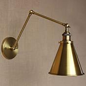 Mini Estilo Lámpara con brazo flexible,Rústico/ Campestre E26/E27 Metal