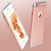iphone 7 7プラス6S 6プラスのための贅沢超薄型つや消し耐震PC背面カバーケース