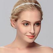Mujer Diamantes Sintéticos Celada-Boda Ocasión especial Casual Oficina Al Aire Libre Bandas de cabeza 1 Pieza