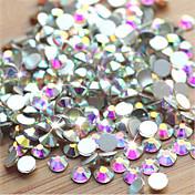 Boda-Dedo / Dedo del Pie-Otras Decoraciones-Otros-1pack (aproximadamente 1000pcs) AB diamantes sintéticos para las uñas – 1.4mm,1.6mm,1.8mm- (cm)