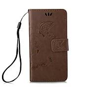 iphone5seのためのソリッドカラーパターンPU電話ケース