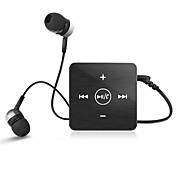eb-601 mini-clipe Headset Bluetooth Stereo fones de ouvido fone de ouvido com microfone para samsung iphone