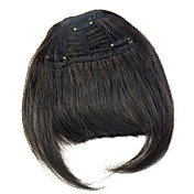 人間の髪の毛は、キュートなスタイルの前髪前髪