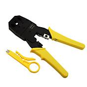 herramienta rewin® de tres uso de la línea telefónica cable de red enchufe modular alicates herramienta 4p / 6p / 8p engaste