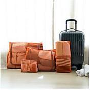 Organizador para Maletas Portable para Almacenamiento para Viaje Accesorios de EquipajeNaranja Rosa Verde