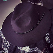 Mujer Sombrero Floppy Casual-Primavera / Otoño-Mezcla de Lana