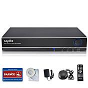 sannce 8点の960Hのdvrマルチモード入力/ ecloud HDMIの1080p / VGA / BNC出力リアルタイムリモートビューワット、QRコードスキャンP2P