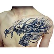 vandtæt midlertidig tatoveringer store arm falske overførsel tatovering klistermærker sexet spray