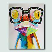 手描きの 動物 Modern,1枚 ハング塗装油絵