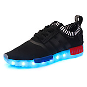 Dječaci Sneakers Proljeće Jesen Osvijetlite Shoes Udobne cipele Til Atletika Ležeran Platforma Vezanje Crn Dark Blue Crvena Navy Plava