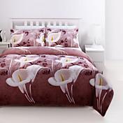 布団カバーセット、3Dプリント寝具布団セットクイーンサイズの掛け布団布団カバーキルトのベッドリネンシートベッドカバー