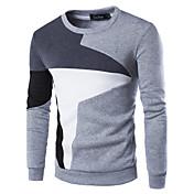 Pánské Bavlna / Polyester Patchwork Activewear Sady Denní nošení Dlouhý rukáv
