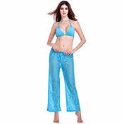 Mujer Pantalones Un Color