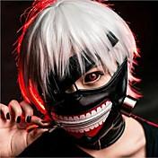 fresca del partido de Cosplay Tokyo Ghoul Kaneki ken Halloween cremallera ajustable máscara prop
