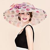 Mujer Organza Celada-Boda Ocasión especial Casual Tocados Sombreros 1 Pieza