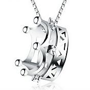 Dámské Řetízky Přívěšky Crown Shape Slitina Módní Šperky Pro Denní Ležérní