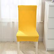 cubierta de la silla de impresión soild casa comedor silla del spandex elástico cubre multifuncional tela elástica tramo universales