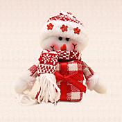 1個のギフトの雪だるまペンダントクリスマスツリーの魅力の装飾ホーム野外フェスティバルパーティー用品