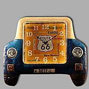 Moderno/Contemporáneo Otros Reloj de pared,Otros Metal 49*42CM(19.5inch*16.5inch)*1PC Interior Reloj