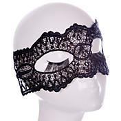 Lace Mask 1pc Máscaras de fiesta Decoraciones del partido Cool / Moda Tamaño Único Negro Encaje