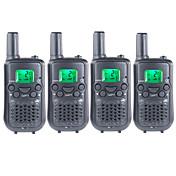 T899462C2P Walkie Talkie 0.5W 22 Channels 400-470MHz AAA alkaline battery 3KM-5KMVOX / iluminar desde el fondo / Cifrado / Aviso por