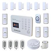 433MHz SMS Móvil 433MHz GSM Alarma telefónica Alarma SMS Alarma de sonido Alarma Local Alarma de Email Sistemas de alarma para el hogar