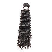 ブラジルレミーヘアー 人毛レミーみの毛エクステ ウェーブ レミー人間の髪織り