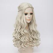 movice bílá královna cosplay halloween přírodní vlna kostým paruka anne hathaway je paruky