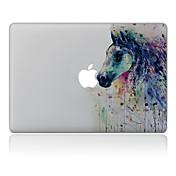 1枚 傷防止 油絵 透明ベースプラスチック ボディーステッカー パターン のためにMacBook Pro 15'' with Retina MacBook Proの15 '' MacBook Pro 13'' with Retina MacBook Proの13 ''