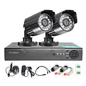 twvision®4ch hdmi 960h cctv dvr監視レコーダー1000tvl屋外防水カメラcctvシステム