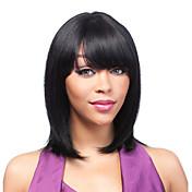 ženski vlasulja kratka perika sintetička perika malo kratka kovrčava crna perika drag frizure