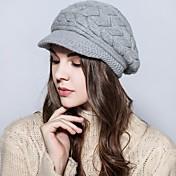 Mujer Sombrero de Ski Vintage / Casual-Otoño / Invierno-Punto