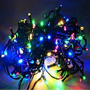 10m luzes do feriado de Natal luzes piscando em todo o séries do céu estrela da decoração do casamento