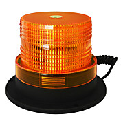 Jiawen 5 pulgadas de imán para atraer la luz estroboscópica LED ámbar destello de luz de alerta de emergencia luz dc 12v impermeable