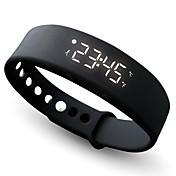 Mujer Reloj Deportivo Reloj Smart Reloj de Moda Reloj de Pulsera Reloj Pulsera LED Cronógrafo reloj del GPS Podómetro Monitores para