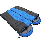 Bolsa de dormir Saco Doble Doble -5-15 Algodón Vacío 2000g 220X75Senderismo / Camping / Playa / Pesca / Viaje / Caza / Interior / Al Aire