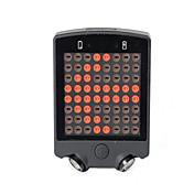 自転車グローライト 後部バイク光 安全ライト LED サイクリング リモートコントロール 充電式 防水 変色 CR2032 USB その他 15 ルーメン USB 変色 日常使用 サイクリング