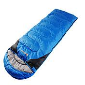 寝袋 封筒型 シングル 幅150 x 長さ200cm 10 ダックダウンX100 キャンピング 旅行 屋内 通気性 防水 携帯用 防風 防雨 折り畳み式 圧縮袋