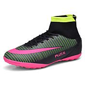 Atletické boty-PU-Pohodlné-Pánské-Černá Modrá Zelená Oranžová-Atletika-Plochá podrážka