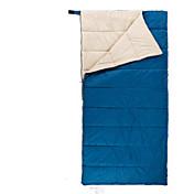 寝袋 封筒型 シングル 幅150 x 長さ200cm 10 中空綿 240グラム 180X30 ハイキング / キャンピング / 旅行 / 屋外 / 屋内 防水 / 通気性 / 防雨 / 折り畳み式 / 携帯式 / 圧縮袋 / 弾性ある Naturehike