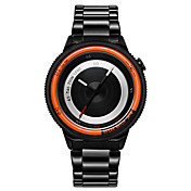 Hombre Pareja Reloj Deportivo Reloj Militar Reloj de Moda Reloj de Pulsera Reloj creativo único Cuarzo Cuarzo Japonés Resistente al Agua
