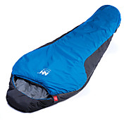 寝袋 マミー型 シングル 幅150 x 長さ200cm -15-5 T/Cコットン 400g 215X80 ハイキング キャンピング 旅行 狩猟 屋外 防湿 通気性 速乾性 防風性 携帯式