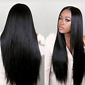 黒人女性のためのjoywigsファッション未処理の100%バージンストレート人間の髪の毛のかつら