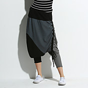 QLZW®Women's Joining Together Large Crotch Streets Hip Hop Pants