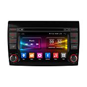 Ownice pantalla HD C500 1024 * 600 con 16GB ROM Android 6.0 cuádruple núcleo reproductor de DVD del coche de radio del GPS para Fiat Bravo