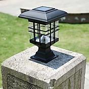 太陽電池パネルのランプエネルギア太陽ランプポストカラムヘッドライトフェンスランプウォールランプヘッドランプは、太陽光屋外ガーデンライトを導きました