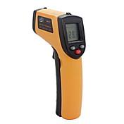 非接触赤外線レーザー赤外線デジタル温度計液晶デジタル赤外線高温計レーザーポイント温度GM320