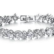 Gipke i čvrste narukvice Moda Umjetno drago kamenje Legura Jewelry Jewelry Za Party Rođendan