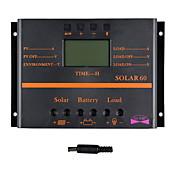 Y-太陽60A LCDソーラー充電コントローラのPWM充電器ソーラーパネルsolar60